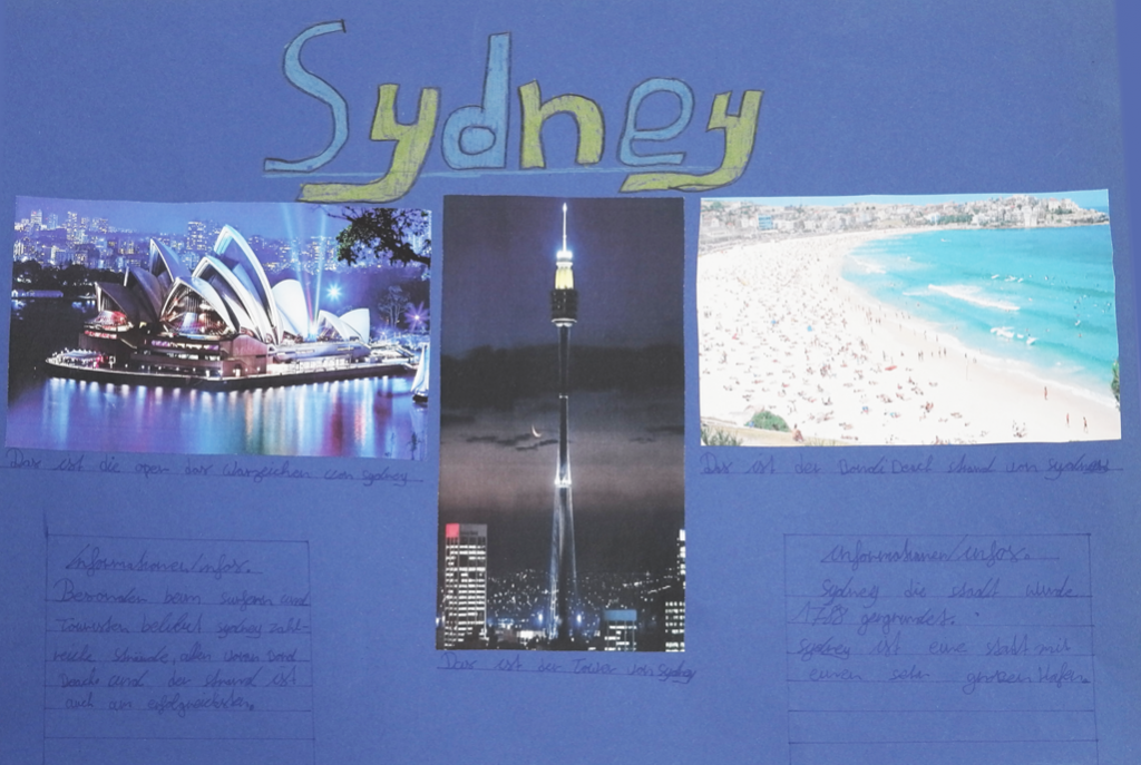 Sydney als Collage