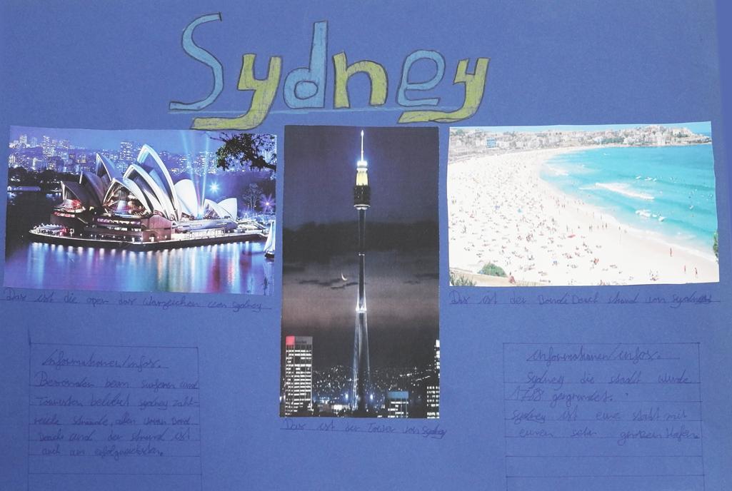 Sydney als Collage